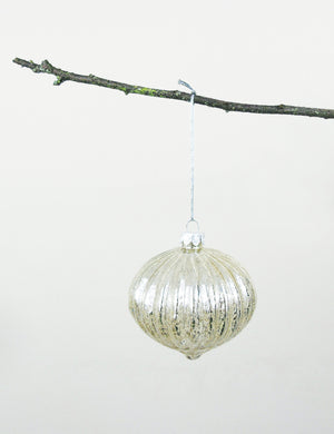 Pewter Vintage Bauble