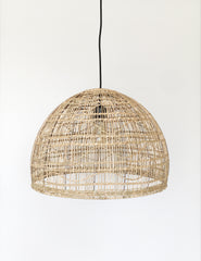 Rattan Natural Light Shade | The Den & Now