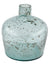 Recycled Glass Large Bottle Vase - Low