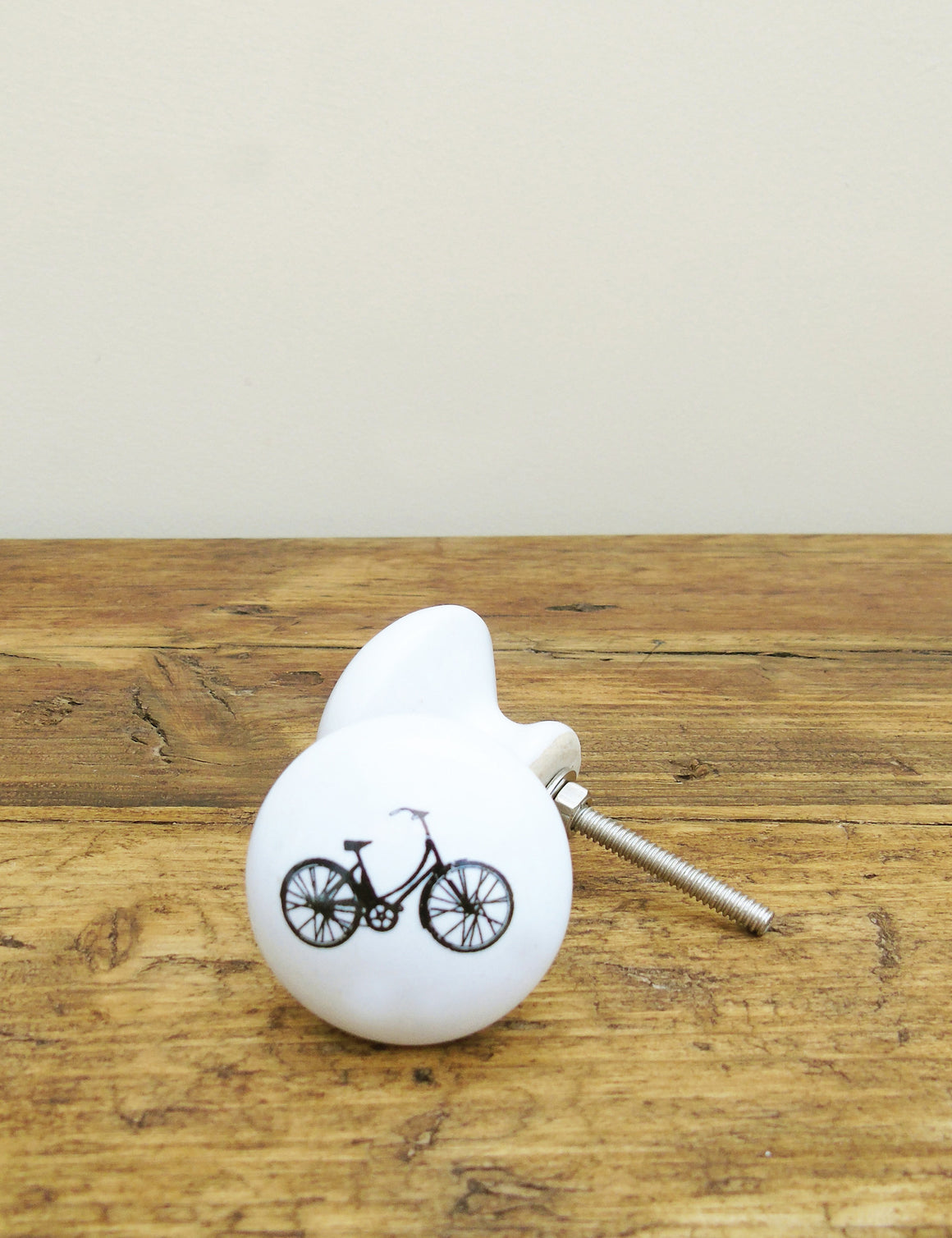 Retro Bike Illustrated Drawer Knob