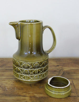Retro Green Coffee Pot
