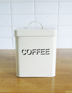 Retro Storage Canisters - Coffee