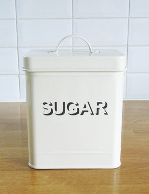 Retro Storage Canisters - Sugar