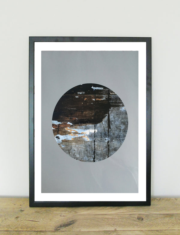 Wholesome Eclipse Abstract Art Print