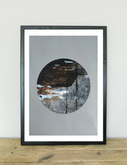 Wholesome Eclipse Abstract Art Print | The Den & Now