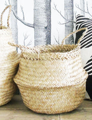 Seagrass Storage Baskets | The Den & Now