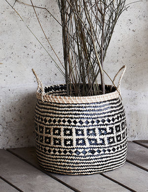 Seagrass Woven Storage Baskets (set of three)