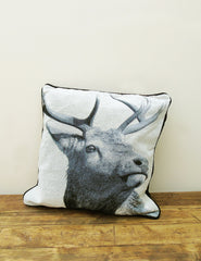 Stag Cushion | The Den & Now