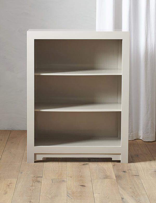 Oriental Oyster Grey Small Bookcase