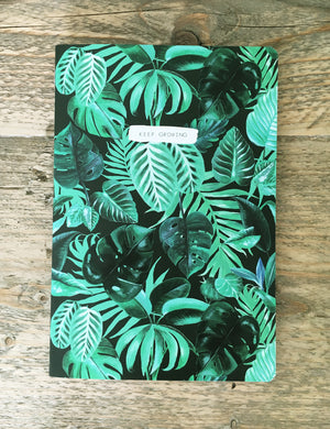 Tropical Print Notebook