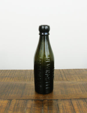 Vintage glass beer bottle - 'The Newcastle Breweries Lim'