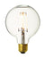 Vintage LED Edison Bulb Old Filament Lamp - 7W E27 Globe G125 - Clear