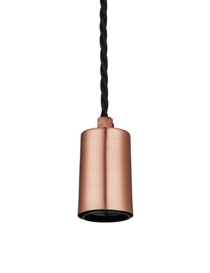 Vintage Sleek Copper Edison Light by Industville