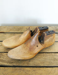Vintage Wooden Shoe Mould Lasts | The Den & Now