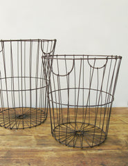 Wire Baskets | Office Storage Solutions | Buy Unique Homeware | The Den & Now