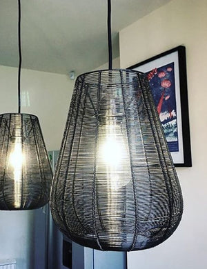 Wire Cage Drop Pendant Light by Industville
