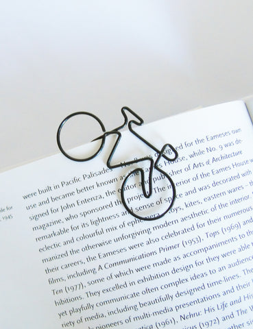 Wire Illustrated Bike Paper Clips