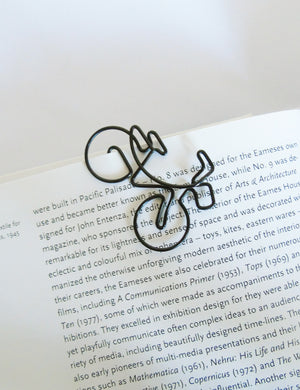 Wire Illustrated Bike Paper Clips - Shopper Bike