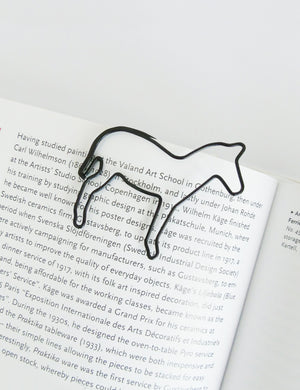 Wire Illustrated Zebra Paper Clips