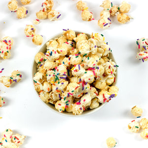 Birthday Cake Popcorn (Set of 6 tubs)