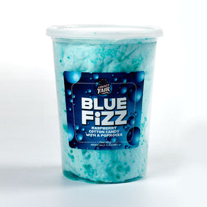 Blue Fizz Cotton Candy with PopRocks (Set of 6 tubs)