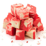 Load image into Gallery viewer, White Chocolate Peppermint Fudge (Set of 3 trays or 1 gift box)