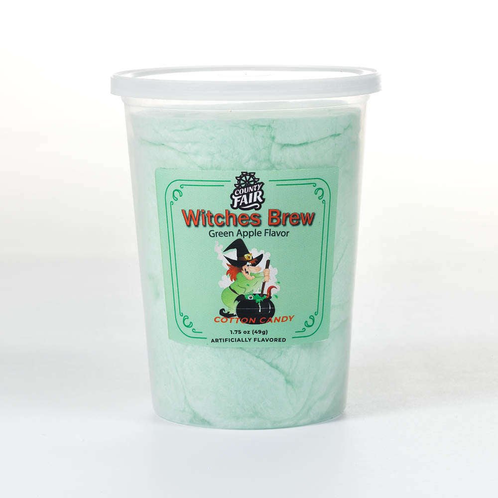 Witches' Brew Cotton Candy