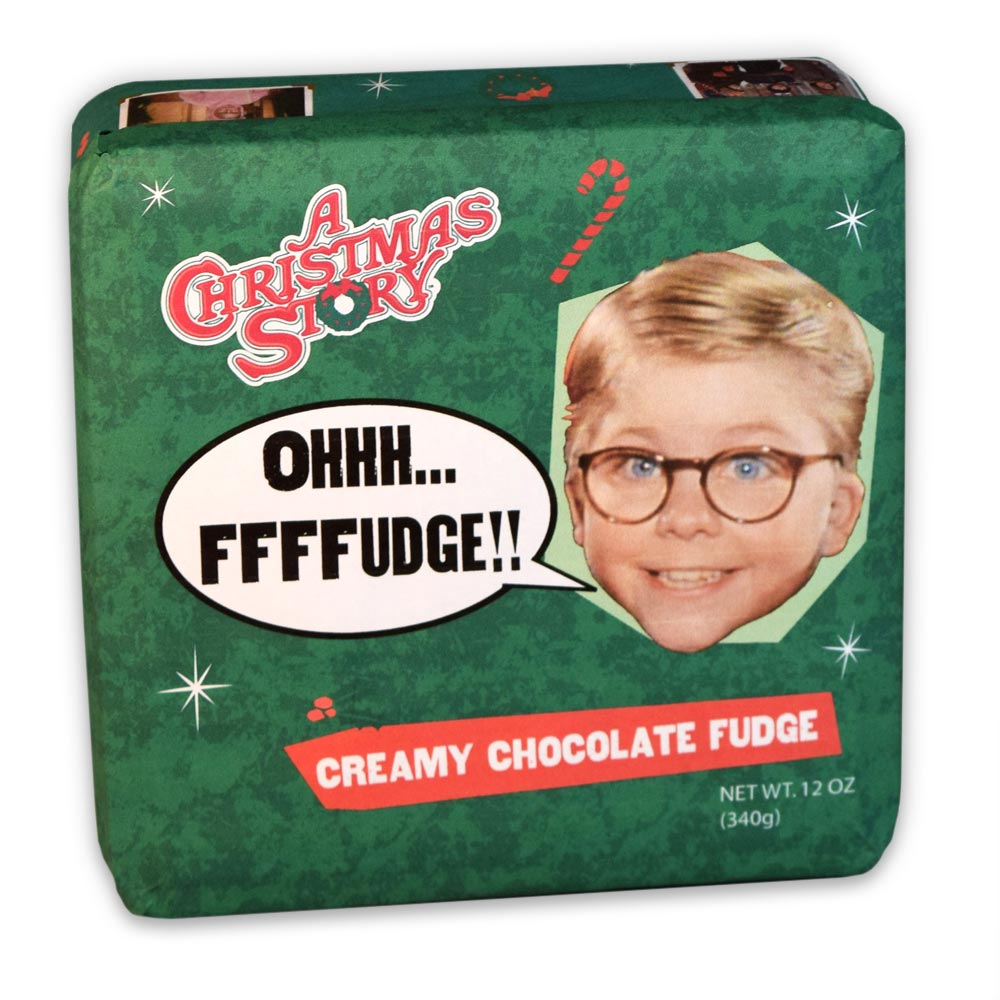 Christmas Story Chocolate Fudge Tins