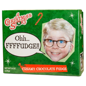 Christmas Story Chocolate Fudge Boxes (4 Boxes per set)
