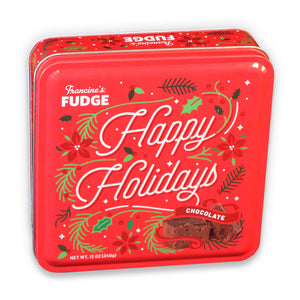 Francine's Chocolate Fudge Tins