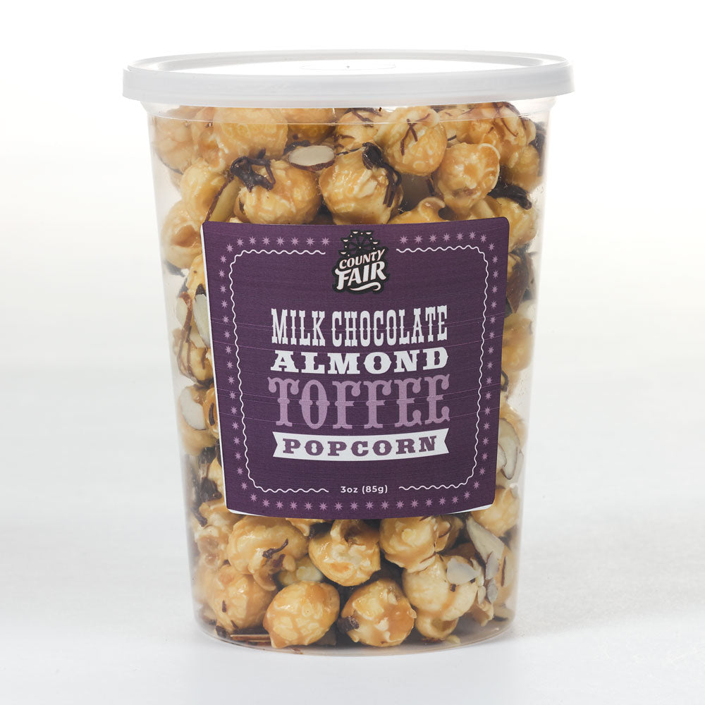 Milk Chocolate Almond Toffee Popcorn