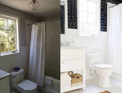 bathroom remodel before and afters