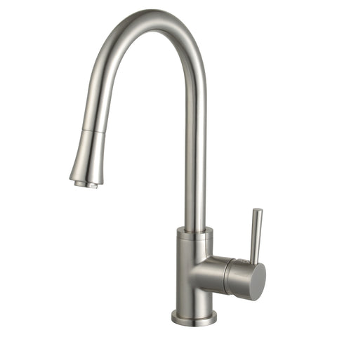 Mira Single Handle Pull Down Standard Kitchen Faucet