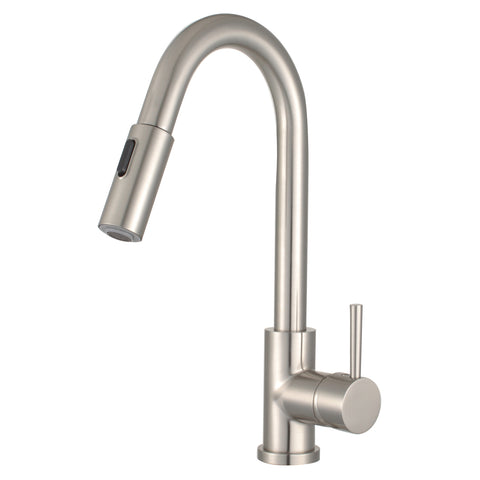 Morgana Single Handle Pull Down Standard Kitchen Faucet