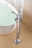 SevenFalls 8015 Freestanding Bathtub Faucet with Hand Shower