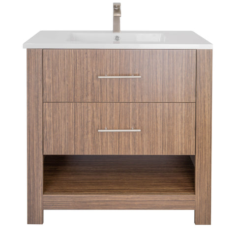 "Mulberry 36"" Single Sink Freestanding Bathroom Vanity Set"