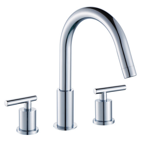 Noa Widespread 3-Hole Bathroom Sink Faucet with Lever Handles