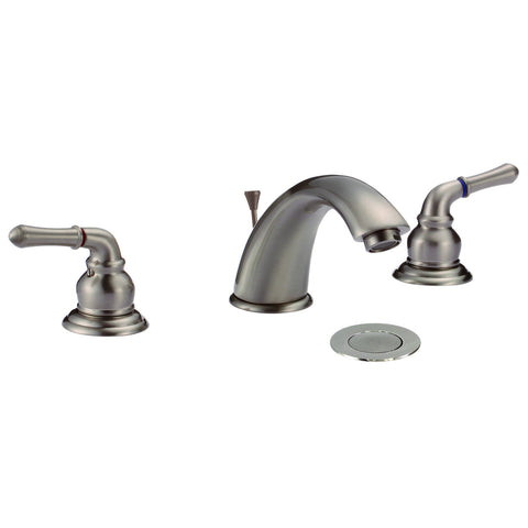 Dionna 9184 Widespread 3-Hole Bathroom Sink Faucet with Lever Handles