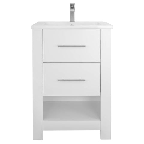 "Mulberry 24"" Single Sink Freestanding Bathroom Vanity Set"