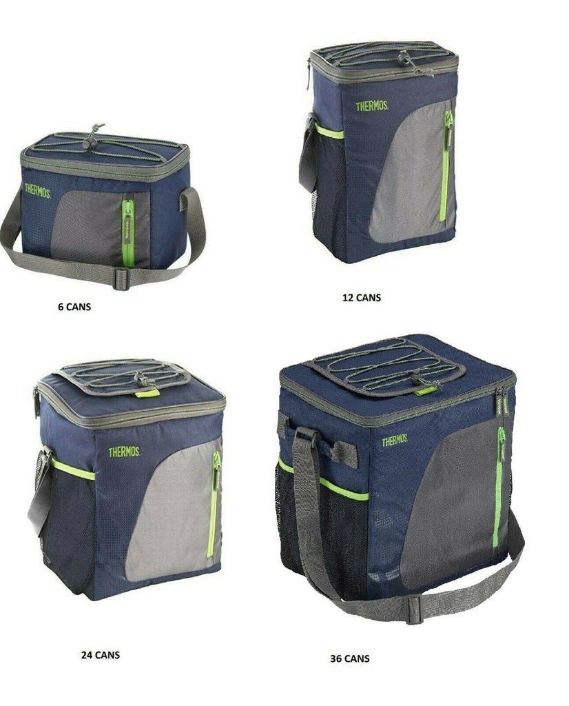 Insulated Beach Cooler Navy Bag Storage