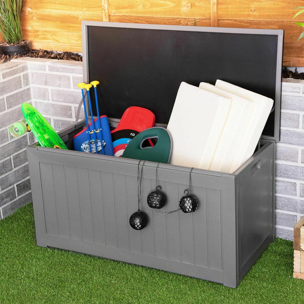 P190L Plastic Storage Chest for Outdoor/Garden/Shed Use