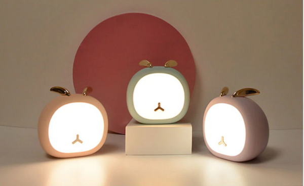 Cute USB Rechargeable Deer/Bunny Pet Night Light For Home/Bedroom Decoration