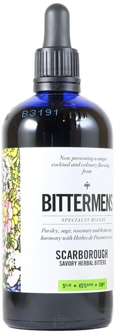 Bittermens Scarborough Savory Herbal Bitters 146ml