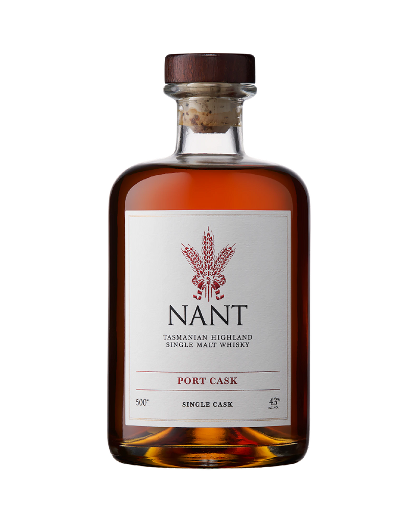 Nant Port Cask Tasmanian Highland Whisky 500mL