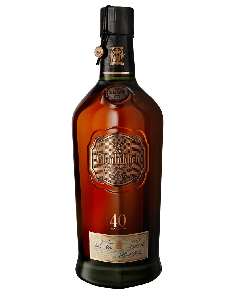 Glenfiddich 40 Year Old Single Malt Scotch Whisky 700ml