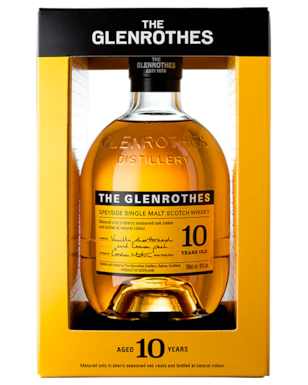 The Glenrothes 10 Year Old Single Malt Scotch Whisky 700ml