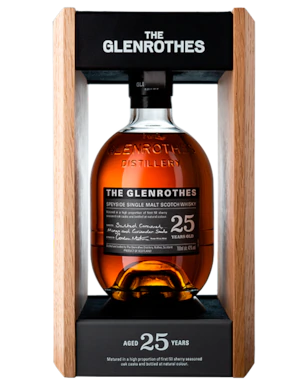 The Glenrothes 25 Year Old Single Malt Scotch Whisky 700ml