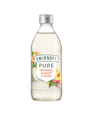 Smirnoff Pure Orange, Mango & Soda 300ml
