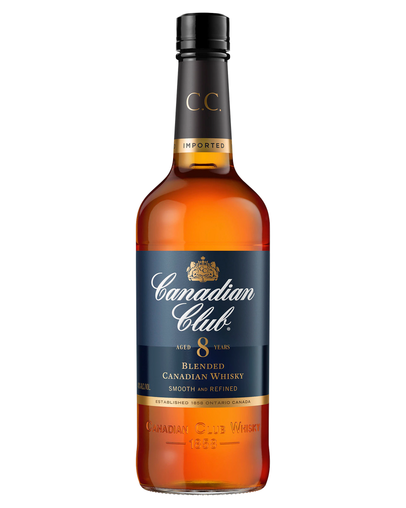 Canadian Club 8 Year Old Canadian Whisky 700ml