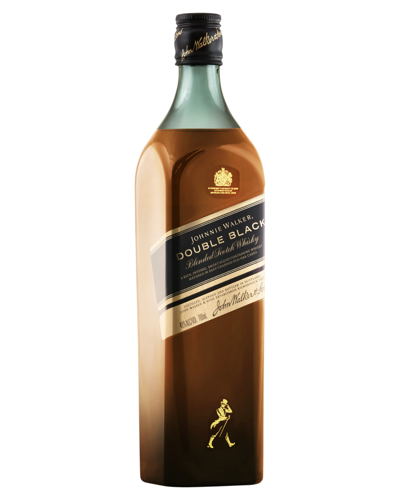 Johnnie Walker Double Black Label Blended Scotch Whisky 700ml - Boozeit.com.au